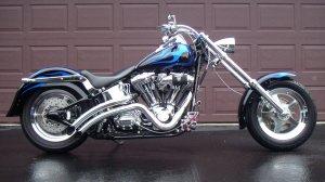 Fatboy courtsey of Harley Davidson