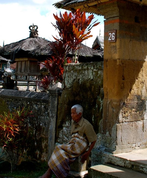 bamboo village man